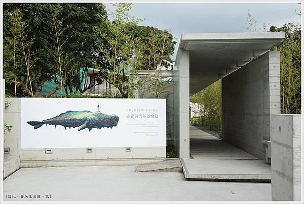 毓繡美術館-入口長廊.JPG
