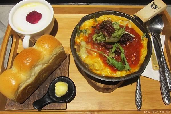 多一點-野菇鮮蔬烘蛋+mini吐司-1.JPG