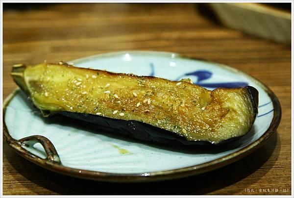 樂座爐端燒 崇德-日本圓茄-1.JPG