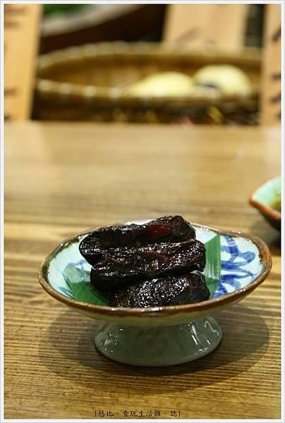 樂座爐端燒 崇德-紫蘇蘋果-2.JPG