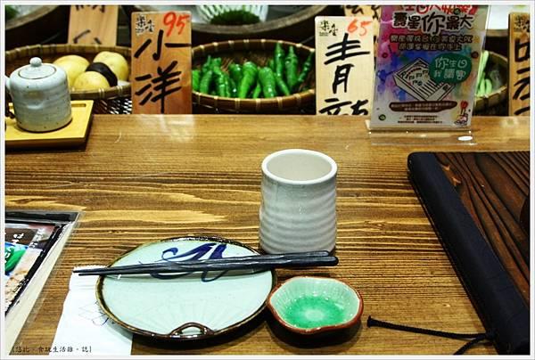 樂座爐端燒 崇德-餐具-1.JPG