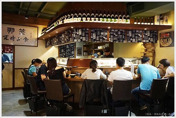 羽笠日本料理-板前座位-1.JPG