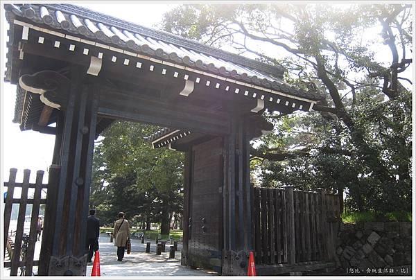 京都御苑-蛤御門-1
