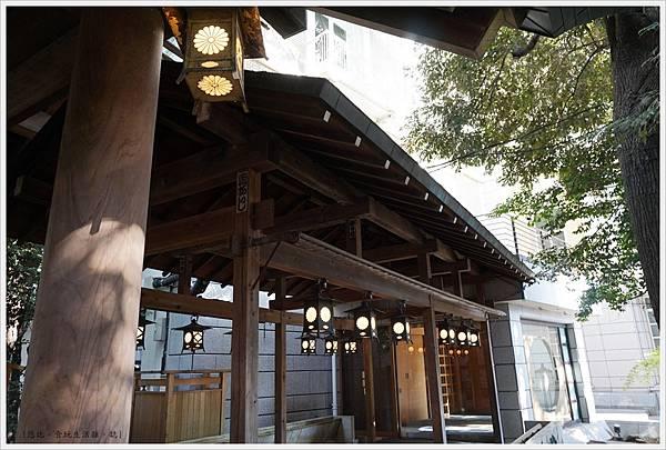 冰川神社-冰川會館-長廊.JPG