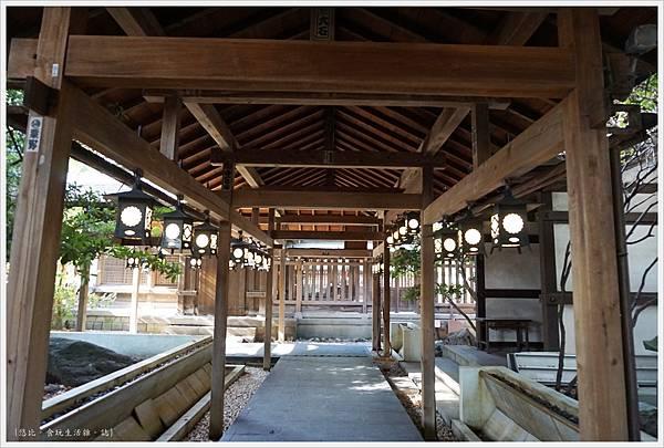 冰川神社-冰川會館-長廊-2.JPG