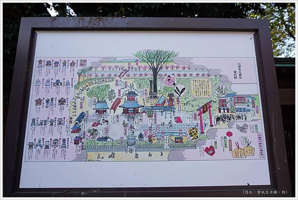 冰川神社-社內地圖.JPG