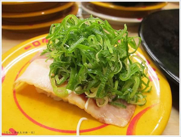 壽司郎-滿是蔥的叉燒握壽司-2.JPG