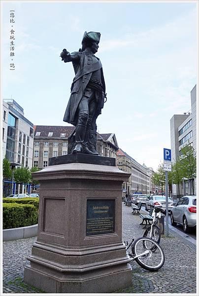 柏林-Jakob von Keith雕像-1.JPG