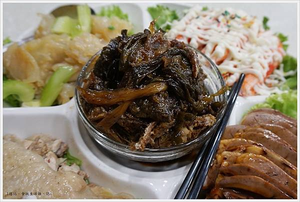 陸園-冷盤-蔥燒鯽魚.JPG