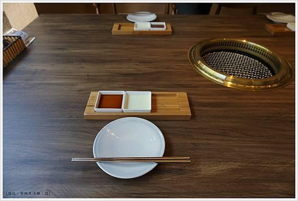 茶六燒肉-10-餐具.JPG