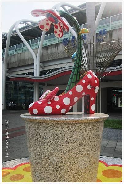 員林車站-草間彌生高跟鞋-5.JPG