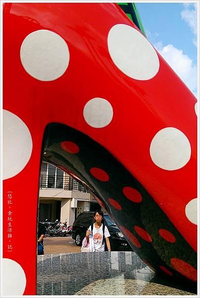 員林車站-草間彌生高跟鞋-10.jpg