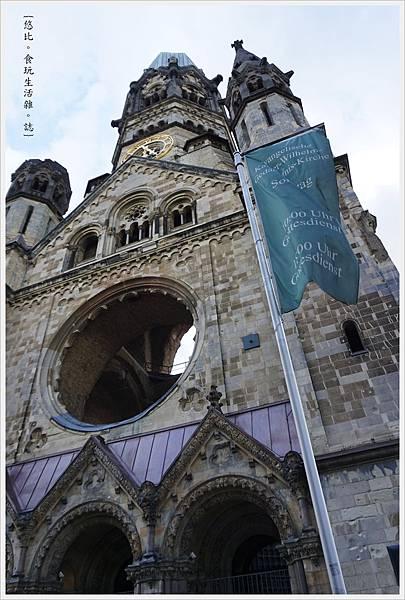 柏林-市區-58-威廉皇帝紀念教堂.JPG