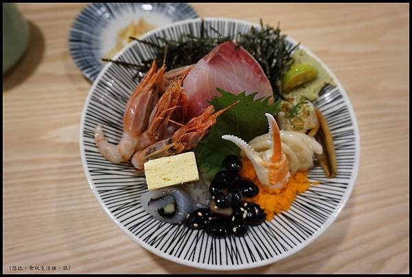 魚鮮會社 竹北-魚鮮海景丼-1.JPG