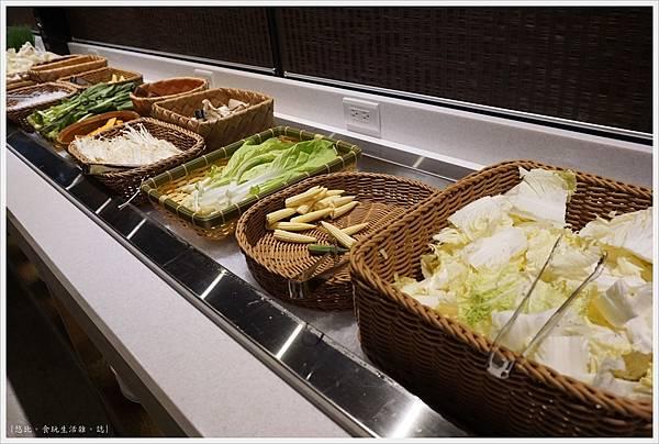 昭日堂-2F鍋物-蔬菜類-2.JPG