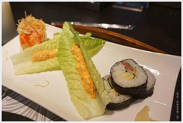 昭日堂-午間套餐-泡菜石鍋花壽司-2.JPG