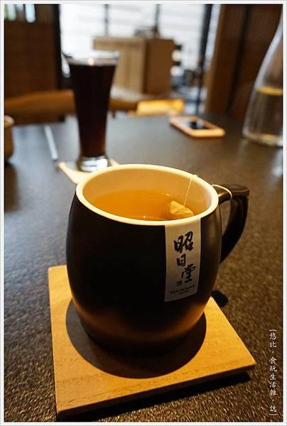 昭日堂-午間套餐飲料-熱茶.JPG