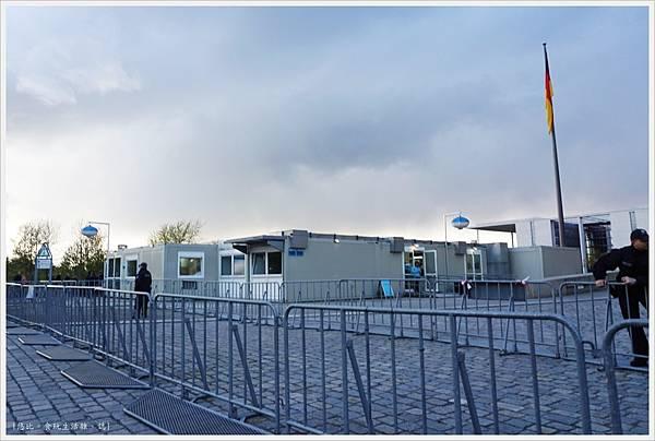 柏林-德國國會大廈-4-取票小屋.JPG