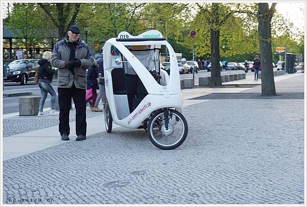 柏林-德國國會大廈-5-觀光三輪車.JPG