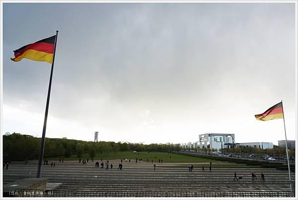 柏林-德國國會大廈-9-正面廣場.JPG