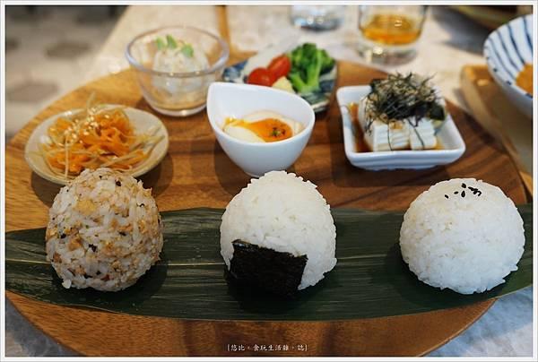 Cafe de RIZ-42-米飯圓圓飯糰餐(自家炒鮭魚鬆).JPG