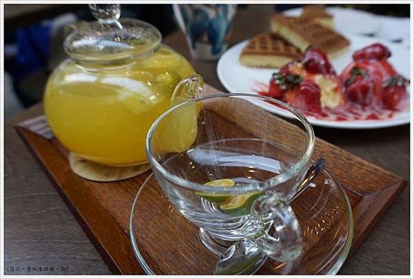木門咖啡-33-熱柚香桔茶.JPG