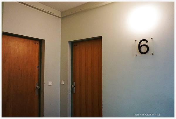 阿姆勃蘭登堡門公寓-房門