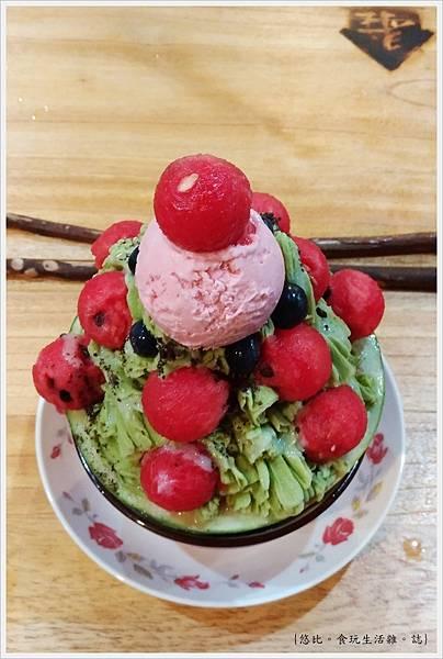 尋庄懷舊冰店-30-抹茶西瓜冰.jpg