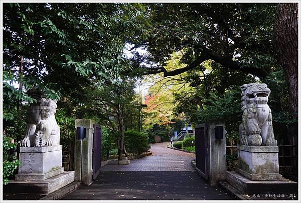 荒川線-46-早稻田大學-庭園.JPG