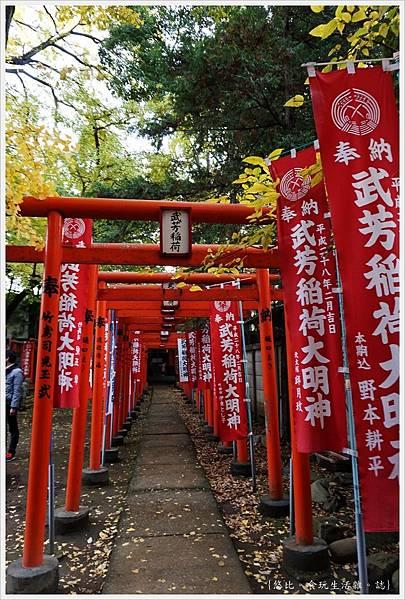 荒川線-鬼子母神-41-武芳稻荷神社.JPG