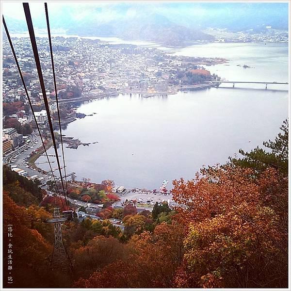 河口湖-天上山公園