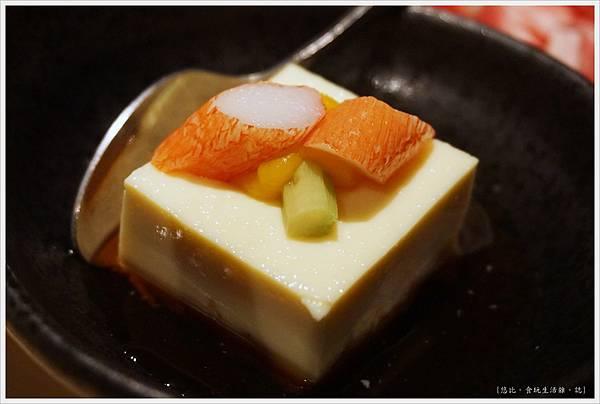 橘色涮涮屋-13-和風蘆筍豆腐沙拉.JPG