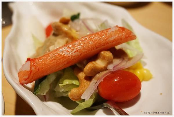 橘色涮涮屋-14-和風生菜沙拉.JPG