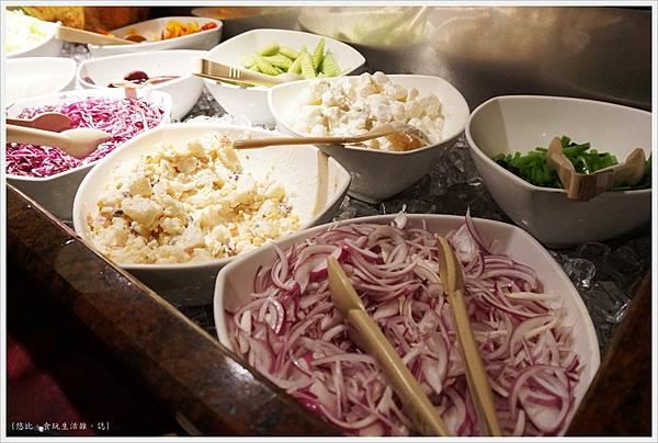 沾美西餐廳-4-自助沙拉吧.JPG