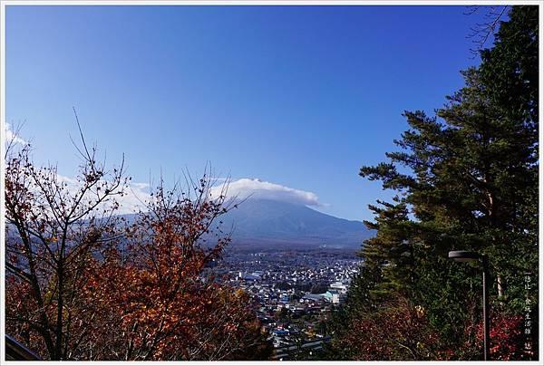 新倉山淺間公園-27-階梯富士山.JPG