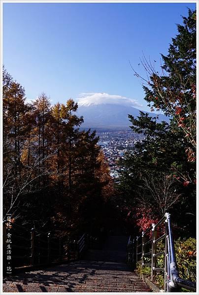 新倉山淺間公園-26-階梯富士山.JPG