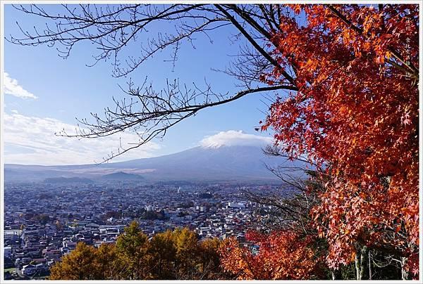 新倉山淺間公園-28-階梯富士山.JPG