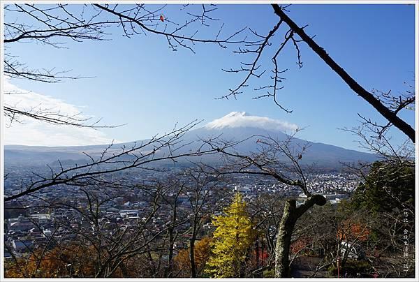 新倉山淺間公園-47-忠靈塔富士山.JPG