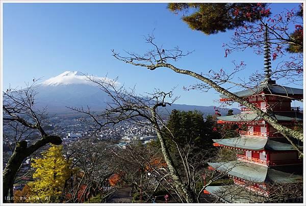 新倉山淺間公園-48-忠靈塔富士山.JPG