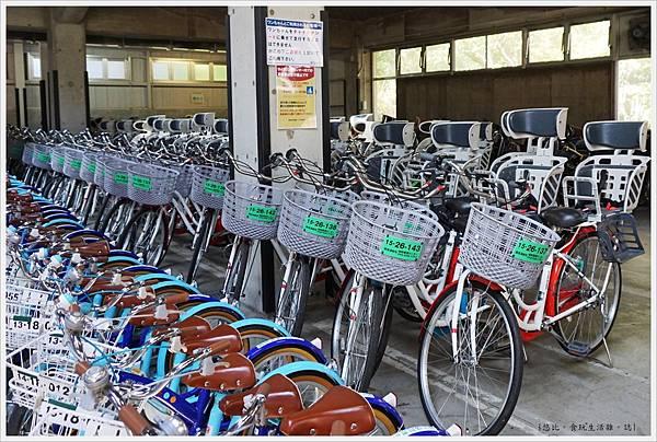 昭和紀念公園-13-母子自行車.JPG