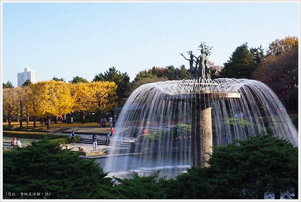 昭和紀念公園-98-噴水池.JPG