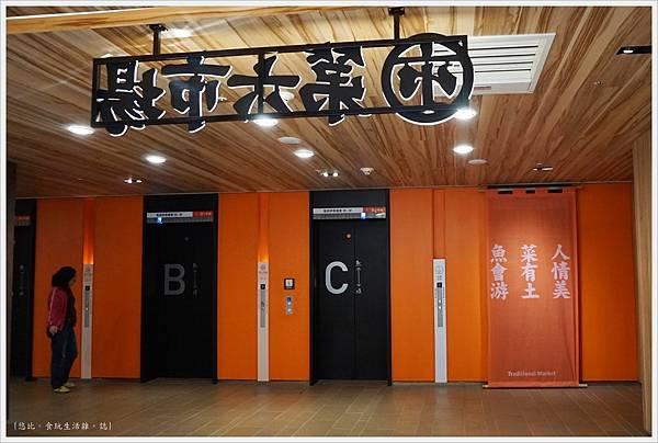 第六市場-57-電梯.JPG