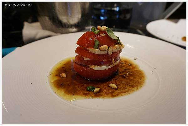 法三小館-2-番茄羅勒鮮乳酪.JPG