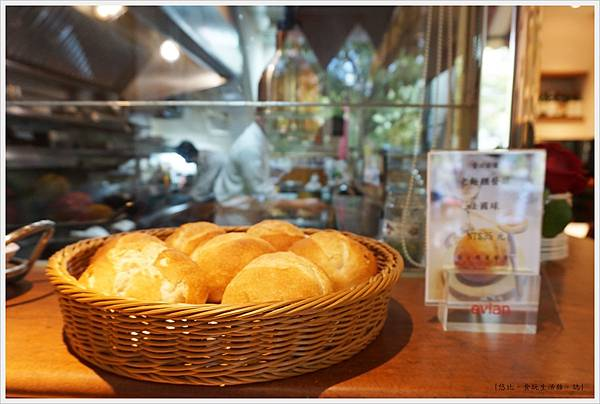 法三小館-46-法國小圓麵包.JPG