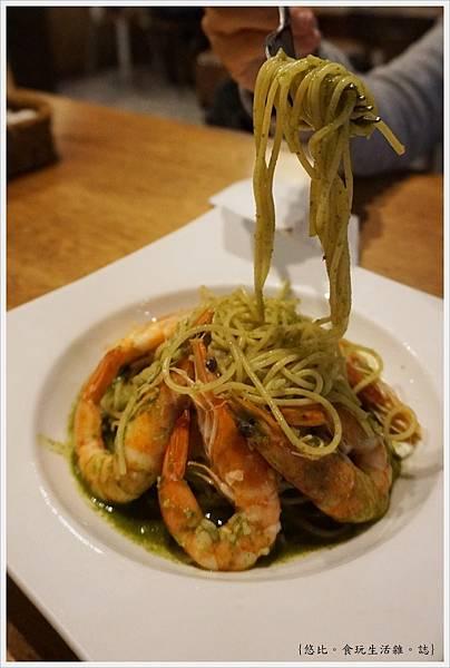 台中薄多義-93-青醬鮮蝦麵.JPG