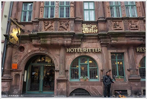 海德堡-舊城區-11-騎士飯店.JPG
