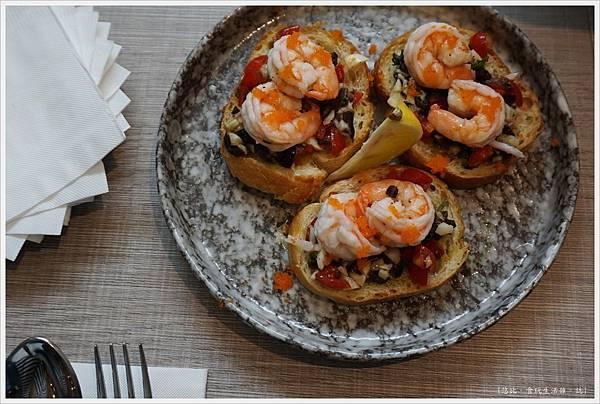 米若-28-鮮蝦卡布里醬與蝦卵.JPG