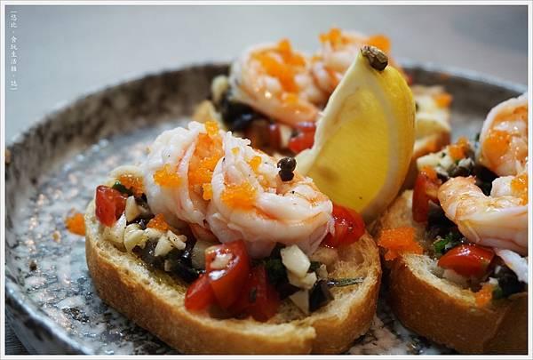 米若-29-鮮蝦卡布里醬與蝦卵.JPG