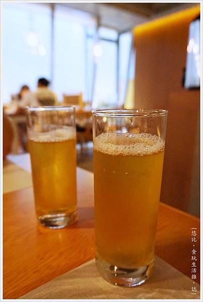 一笈壽司-101-冰玄米茶.JPG