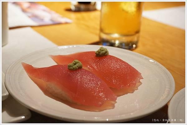 一笈壽司-106-鮪魚握壽司.JPG